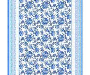 Ткань рогожка арт.18817-1 Рапсодия основа