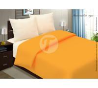 Ткань поплин однотонный цвет - апельсин