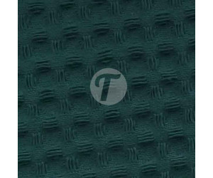 Вафельное полотно для халатов Премиум 150см - 240гр арт.976 темный зелено-синий