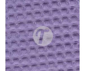 Вафельное полотно для халатов Премиум 150см - 240гр арт.622 - фиолет (насыщ)